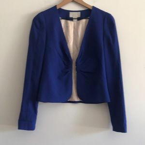 NWOT H & M Blazer Cropped Fully Lined  Size 8
